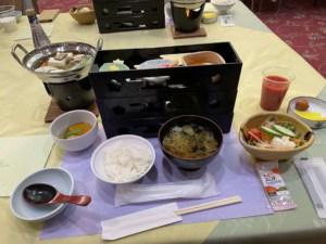 岩沼屋朝食